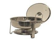 Stainless Steel Round Chafer