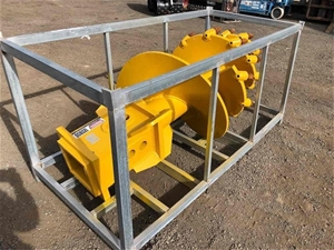 900mm Double Cut Conical Rock Auger With