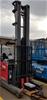 Nichiyu Sicos Ac FBRF20 70B 950MSF 2 Tonne Electric Ride On High Reach Fork