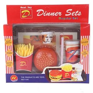 6 x Toy Dinner Sets. (SN:ZFG00022-K6) (2