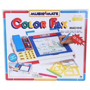 MUSIC MATE Toy Colour Fax Machine c/w So