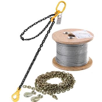 Lifting Chain & Webbing Slings & Load Restraint
