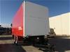 2014 CIMC AUCD2 Tandem Axle Curtain Nago P.G Prairie Wagon Trailer