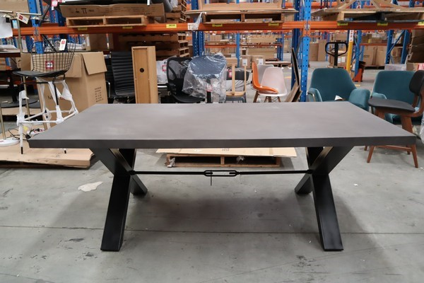Dynamite Concrete Dining Table