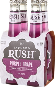 Infused Rush Purple Grape Vodka (24 x 27