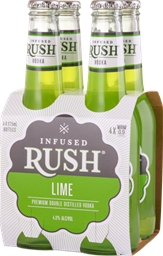 Infused Rush Lime Vodka (24 x 275mL) Australia
