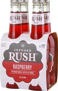 Infused Rush Raspberry Vodka (24 x 275mL