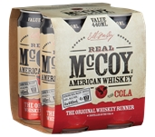 Real McCoy US Whiskey & Cola Can (24 x 440mL) Australia