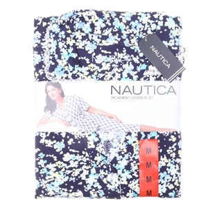 NAUTICA Wen`s 2pc Button-Front Capri Sle