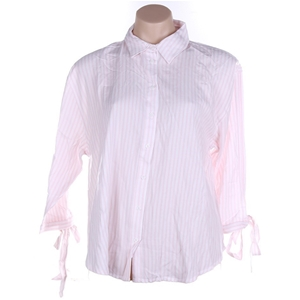 JAG Women`s Stripe Blouse, Size L, 100%