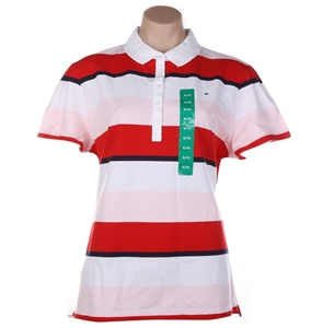 TOMMY HILFIGER Women`s Heritage RGB Polo