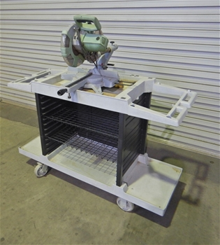 Mitre Saw & Trolley