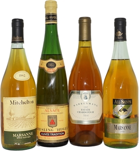 Pack Of Assorted Old White Wines (4x 750