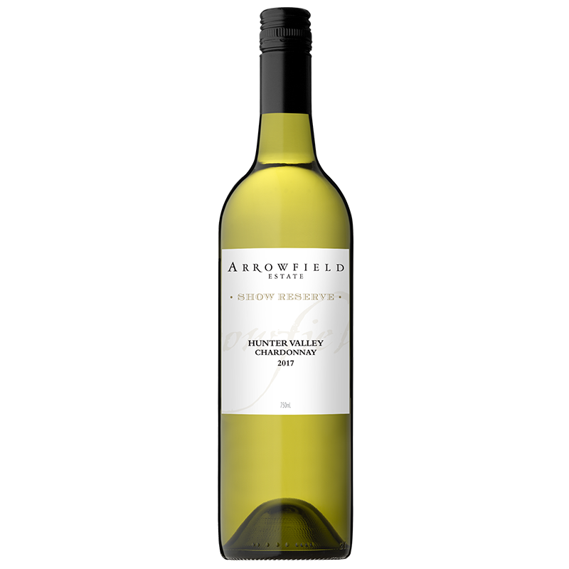 Arrowfield Chardonnay 2017 (12x 750mL), Hunter Valley.