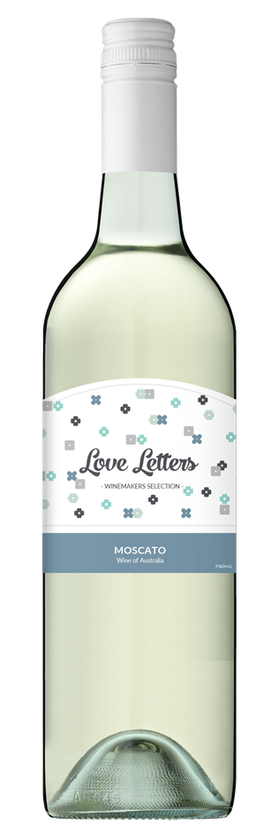 Love Letters Moscato NV (12x 750mL), South Australia.