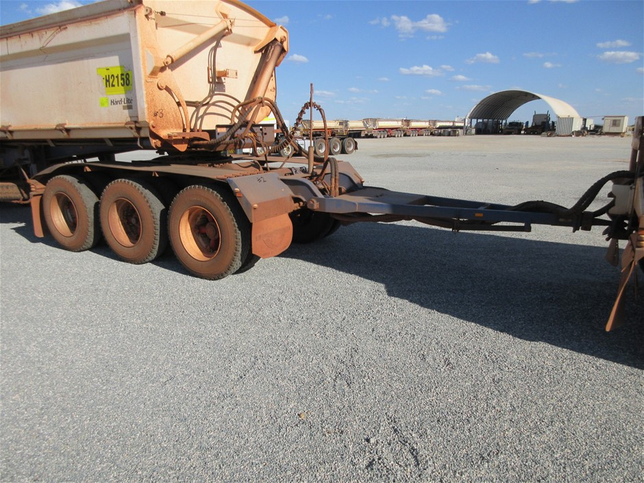 2013 Road West Transport DOL200 Tri Axle Converter Dolly