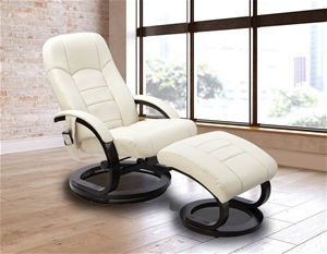 PU Leather Deluxe Massage Chair Recliner