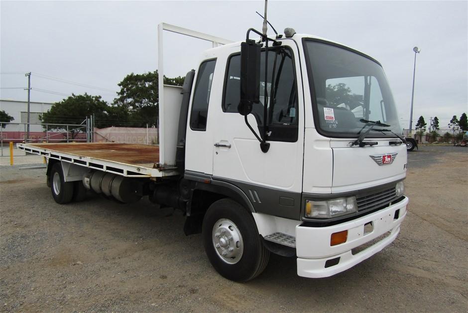 1995 Hino FD Tray Body Truck
