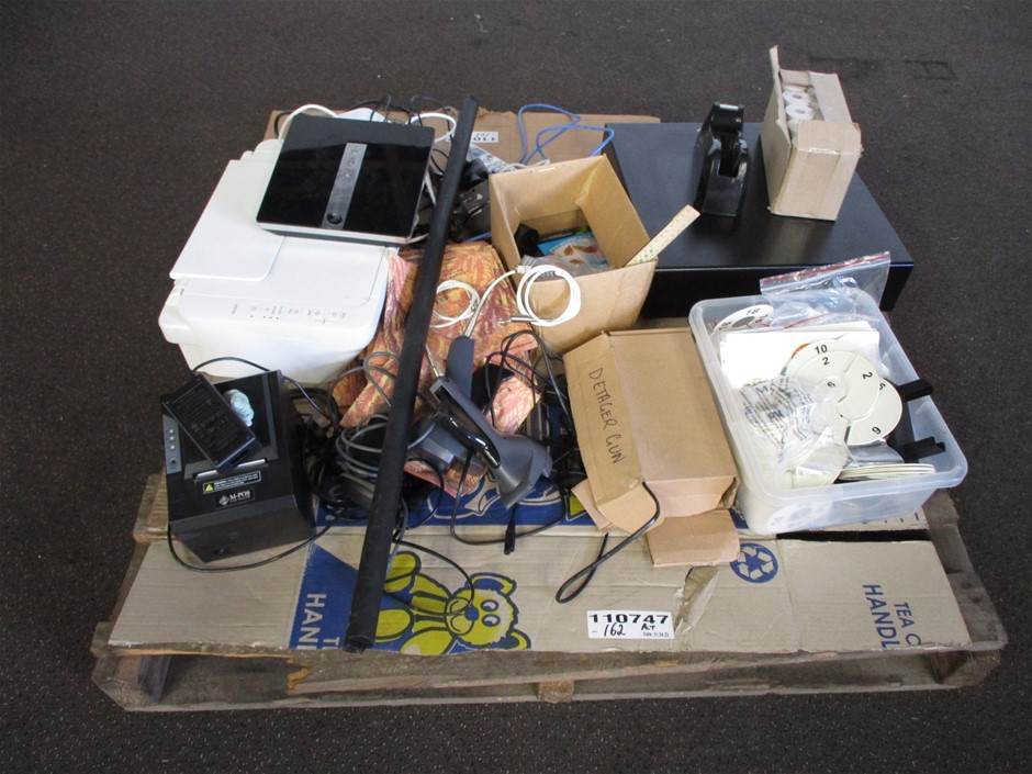 Pallet of Office Electronic Devices