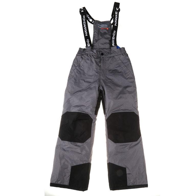 HAWKE & CO Kids Ski Pants with Suspenders, Size 10, Dynamic Sport Fiber, He