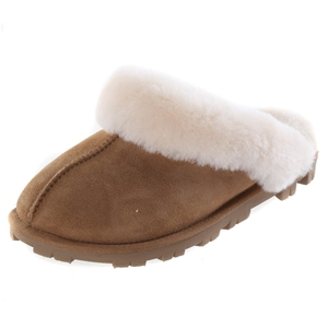 Pair Ladies SIGNATURE SHEARLING Slippers