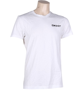 DKNY Men`s Crew Neck T-Shirt, Size L, 10
