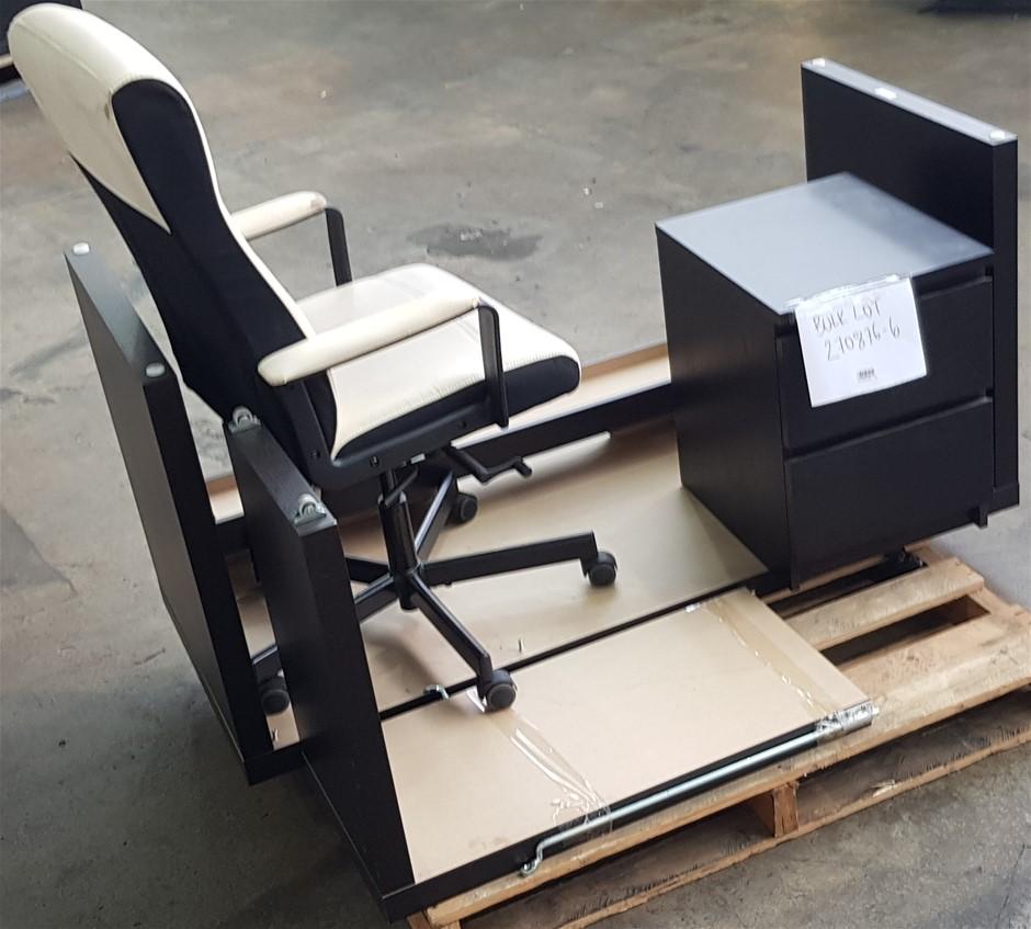 Bulk Lot Of Assorted Office Furniture