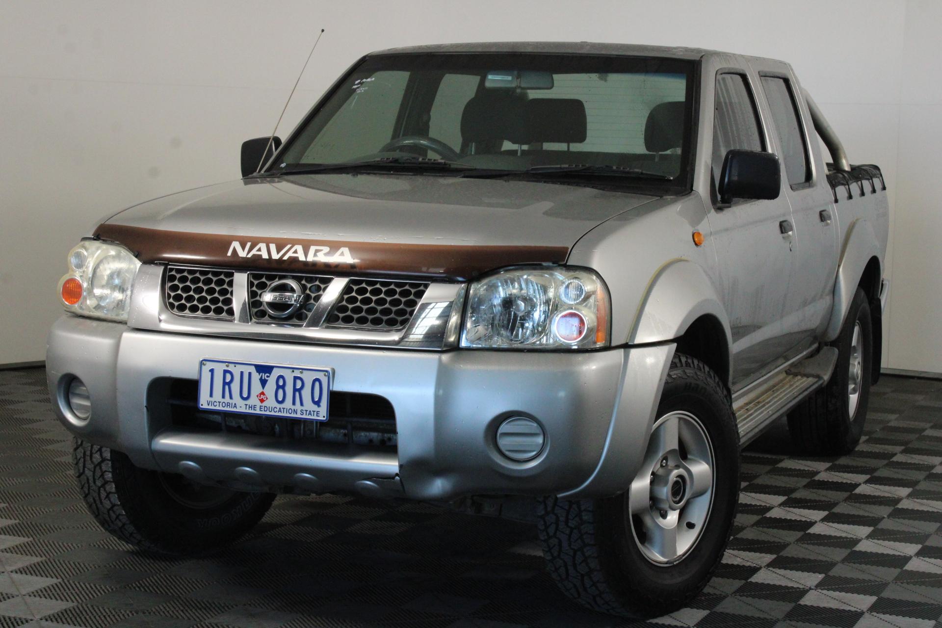 2004 Nissan Navara ST-R (4x4) D22 Manual Dual Cab
