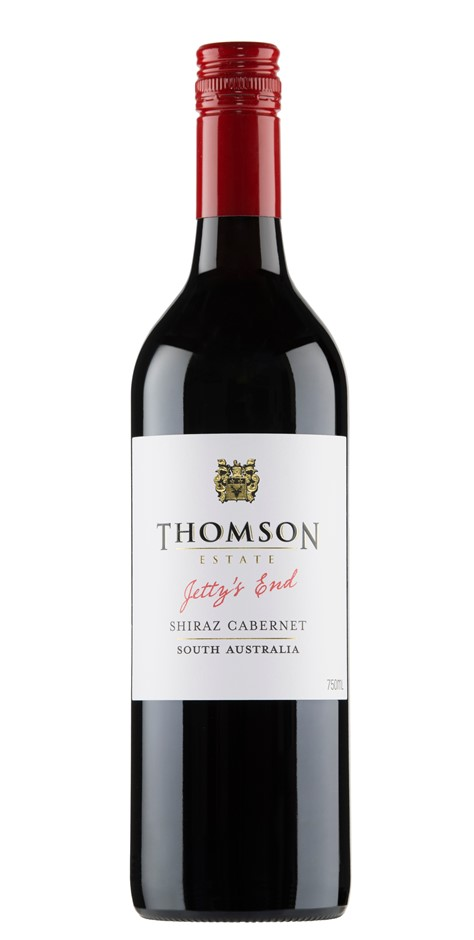 Thomson Estate Jetty's End Shiraz Cabernet 2019 (12 x 750mL) SA