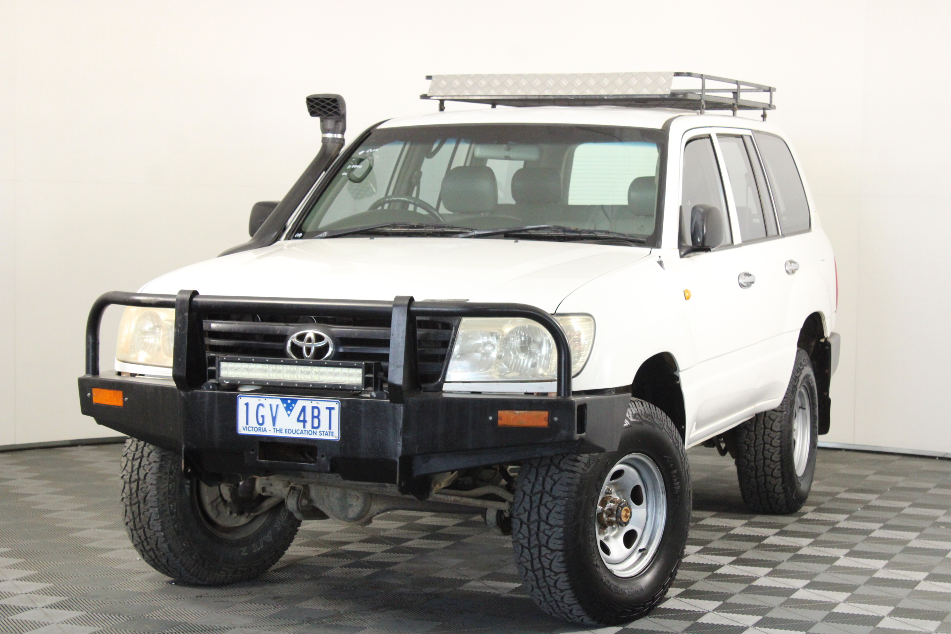 2006 Toyota Landcruiser (4x4) HZJ105R Manual Wagon