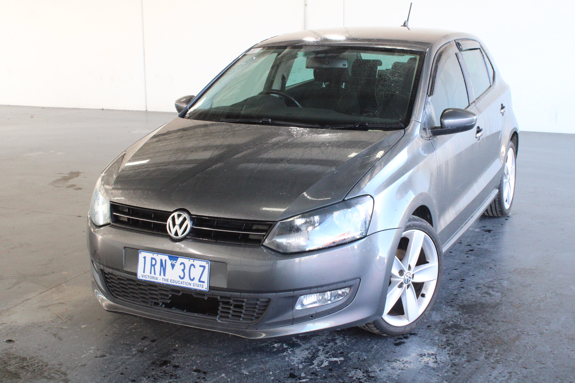 2012 Volkswagen Polo 77 TSI Comfortline 6R Manual Hatchback