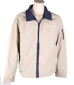 NAUTICA Men`s Yacht Anchor Jacket, Size