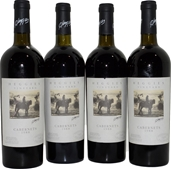 Heggies Vineyard Cabernets 1988 (4x 750mL), Eden Valley, SA. Cork