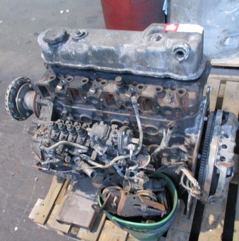 Mitsubishi Rosa 4 Cylinder Diesel Engine
