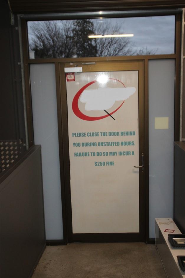 Entry Door & Frame Glass Frame Works