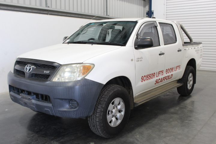 2005 Toyota Hilux SR (4x4) GGN25R Automatic Dual Cab