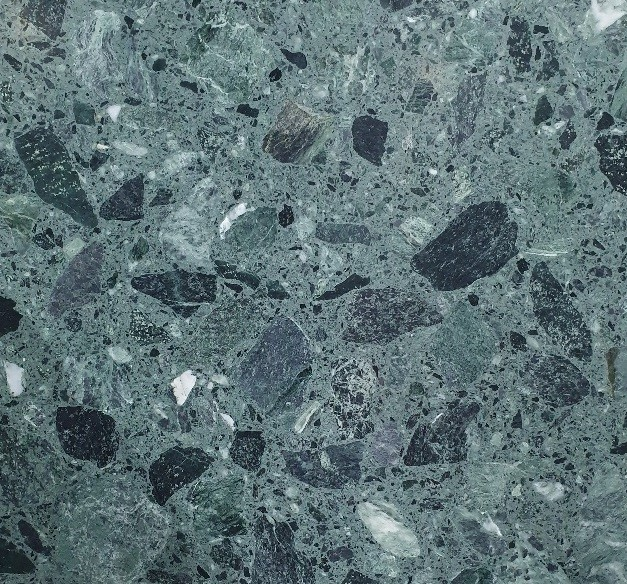 reconstituted marble slab - Verde Alpi (each) rrp$350 - 1000x1200x12mm