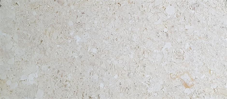 Cream natural stone slab 30mm (each) rrp$500 - 600x1200x30mm