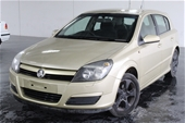 Unreserved 2005 Holden Astra CDX AH Automatic Hatchback