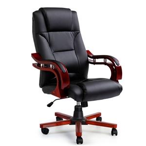 Artiss Executive Wooden Chair Wood Compu