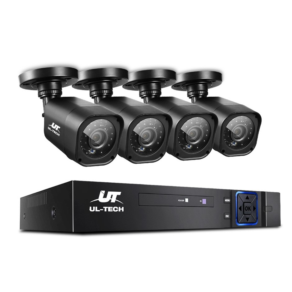 UL-tech CCTV Security Camera System Home DVR 1080P 2MP HD Day Night