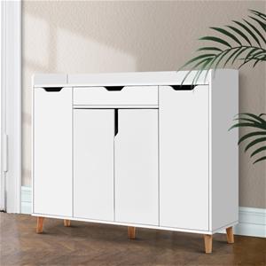 Artiss Shoe Cabinet Storage Rack 120cm O