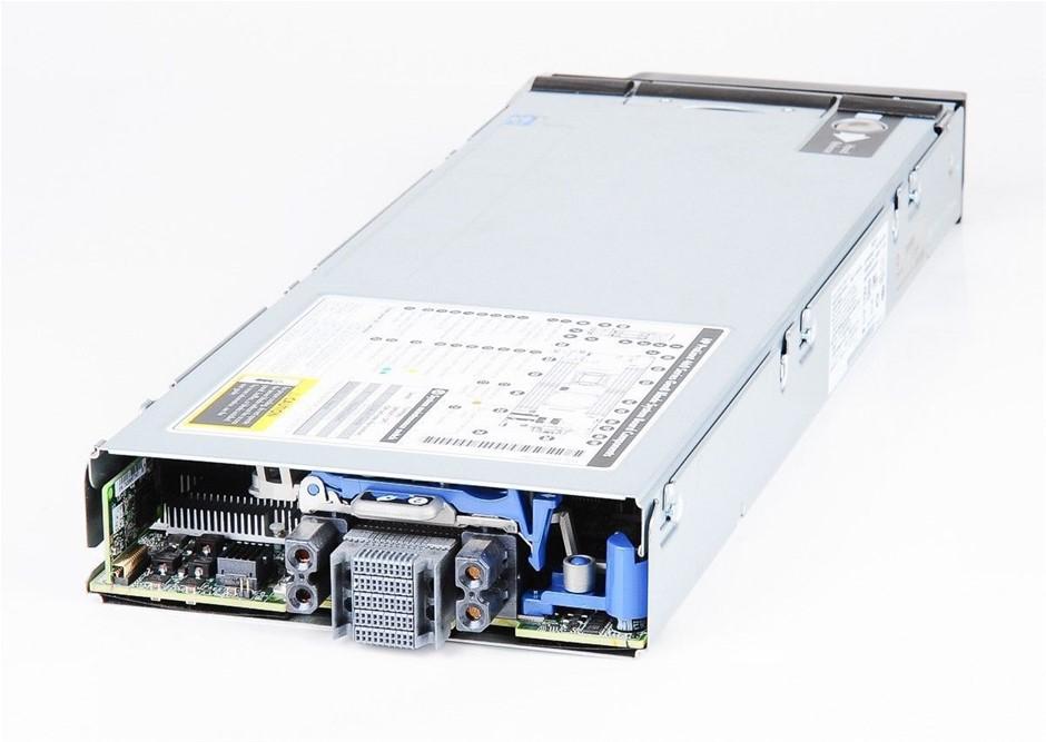 HP BL460c-Gen8 SERVER, 2x E5-2640, 32GB, 0.6 TB