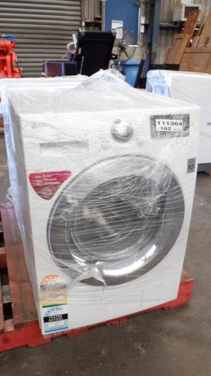 LG 8kg Front Load Washing Machine