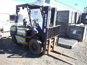 Komatsu FD30T-H 4 Wheel Counterbalance Forklift