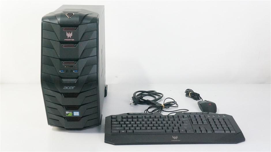 Acer Predator G3-710 Gaming Desktop PC
