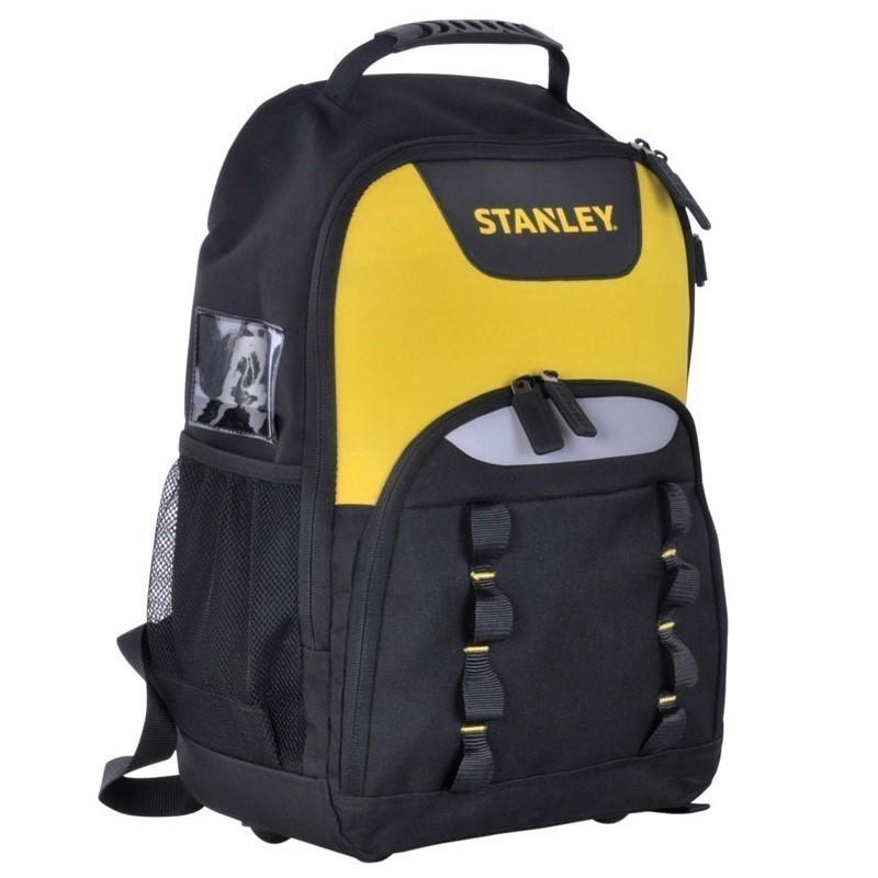 STANLEY Tool Bag Backpack 15kg Load Capacity, Detachable Divider, Padded Ba