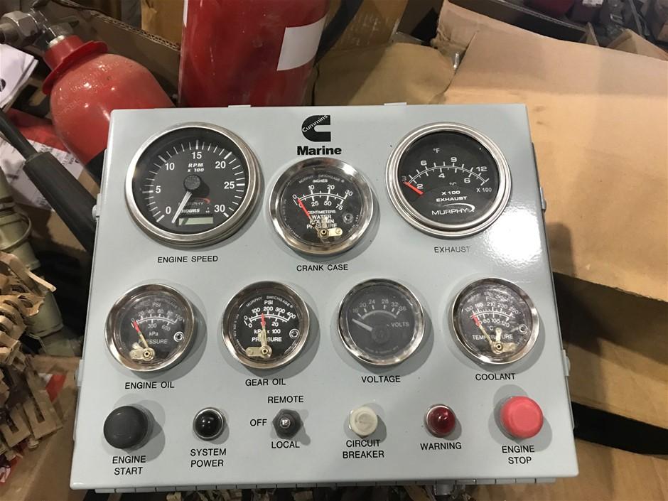 Unused Cummins Marine Digital Instrument Panel