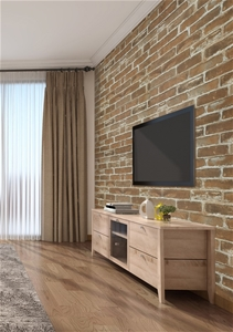 Wallpaper Faux Brick Wall Paper Roll