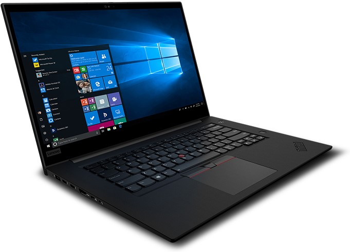 Lenovo ThinkPad P1 Gen2 15.6-inch Notebook, Black
